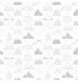 seamless background with grey doodle sketch vector image vector image