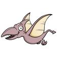 Cartoon pteranodon vector image vector image