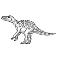 iguanodon vector image vector image