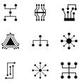 link icon set vector image