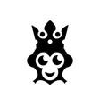 monkey king logo vector image