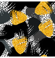 paint strokes seamless pattern vector image vector image