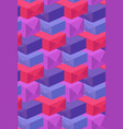 pattern of multi-colored boxes vector image