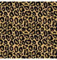 Seamless pattern with leopard fur texture
