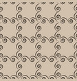 square with spiral seamless pattern fashion vector image