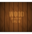 Wooden background Wood texture EPS 10 vector image vector image