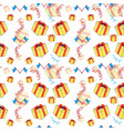 background for a birthday party vector image