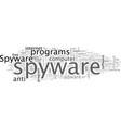adware delete spyware vector image vector image