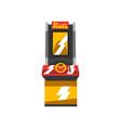 electronic slot machine vector image vector image