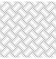 geometrical black and white abstract ring pattern vector image vector image