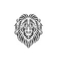 hand drawn lion head inspirations vector image