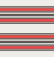 retro black white and orange horizontal stripes vector image vector image