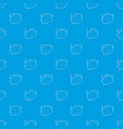 soap pattern seamless blue vector image