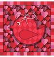 valentine decoration vector image vector image