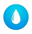 abstract water drop vector image vector image