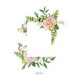 design vertical card pink delicate soft french vector image