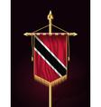 Flag Trinidad and Tobago Festive Vertical Banner vector image vector image