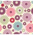 floral pastel pattern vector image