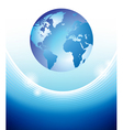 Planet stability concept vector image vector image