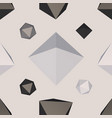 polygon shaped backdrop vector image vector image