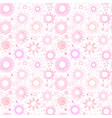 seamless pattern with pink stars can be used vector image