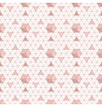 triangle seamless background with shapes vector image