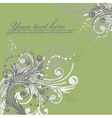 vector ornament in flower style vector image vector image