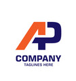 letter appa geometric strong logo