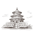 Temple of Heaven in Beijing vector image