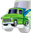 tow-truck vector image vector image