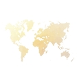 Dotted abstract map of World vector image