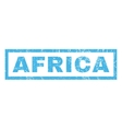 Africa Rubber Stamp vector image vector image