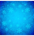 Blue Snowflakes Background vector image vector image