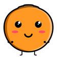 cute lulo emoticon vector image vector image