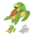 Sea Turtle vector image vector image