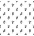 medicine calendula pattern seamless vector image