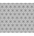 monochrome seamless pattern triangular lattice vector image