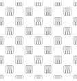 piano keys pattern seamless vector image vector image