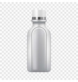 plastic bottle icon realistic style vector image vector image