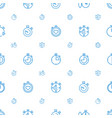 quick icons pattern seamless white background vector image vector image