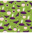 Seamless Halloween pattern vector image vector image