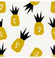 Seamless Pineapples Pattern vector image