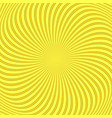 spiral ray background from swirling rays vector image vector image