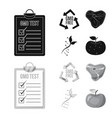 and symbol set of vector image vector image