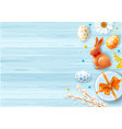background for any easter design vector image