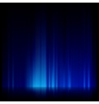 Blue light and stripes moving fast EPS 10 vector image vector image