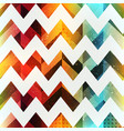 colored zigzag seamless pattern with grunge effect vector image vector image