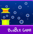 game board bubble vector image vector image