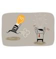 Idea Thief vector image vector image