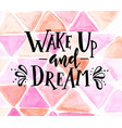 inspirational hand drawn typography poster vector image vector image